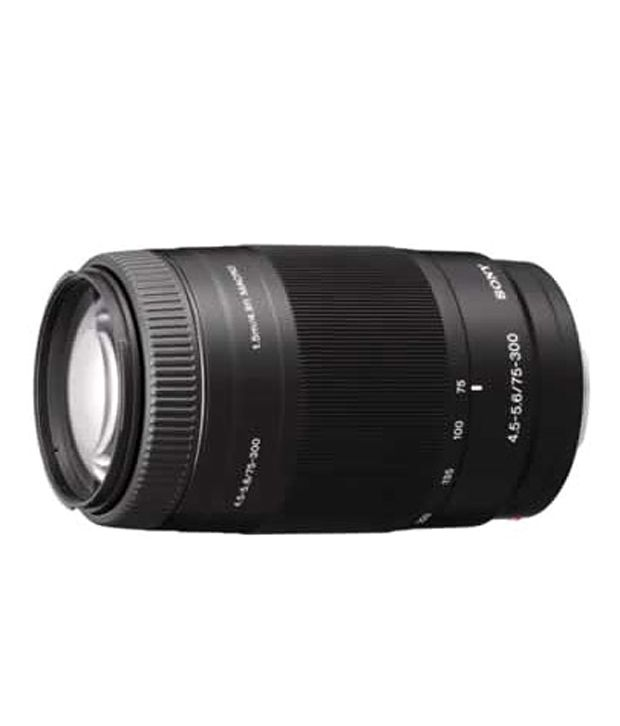 Sony Alpha 75-300mm F4.5-5.6 Telephoto Zoom Lens