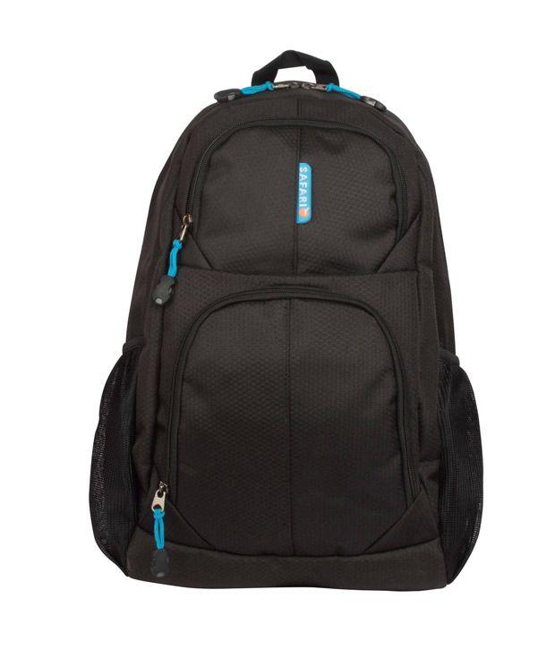 1c57b96b06c0 Safari Chase 104 Black Laptop Backpack - Buy Safari Chase 104 Black Laptop Backpack  Online at Low Price - Snapdeal