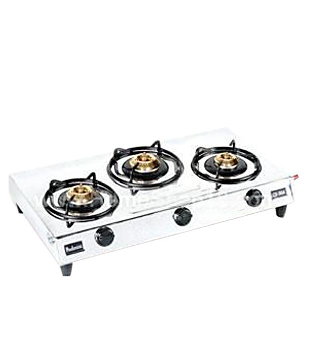 Padmini CS-304 3 Burner Gas Cooktop