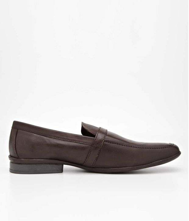 14873493061 U.S. Polo Assn. Brown Formal Shoes Price in India- Buy U.S. Polo Assn.  Brown Formal Shoes Online at Snapdeal