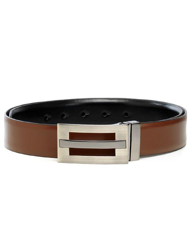Hidecraft Classy Black - Brown Reversible Belt