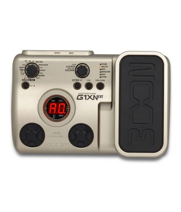 zoom g1xn guitar effects pedal buy zoom g1xn guitar effects pedal online at best price in india. Black Bedroom Furniture Sets. Home Design Ideas