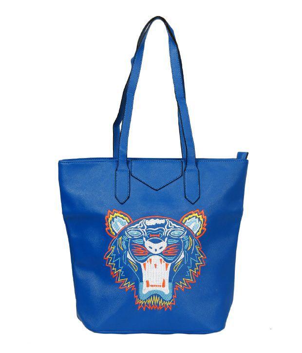 A-Progeny SG2104Blue Tote Bag