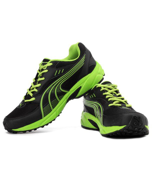 puma neon green shoes online store