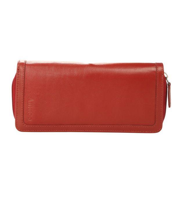 Amnee Ladies Wallet Red