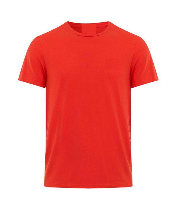 349f7015 A&P Red Colour Plain T Shirt - Buy A&P Red Colour Plain T Shirt Online at Low  Price - Snapdeal.com