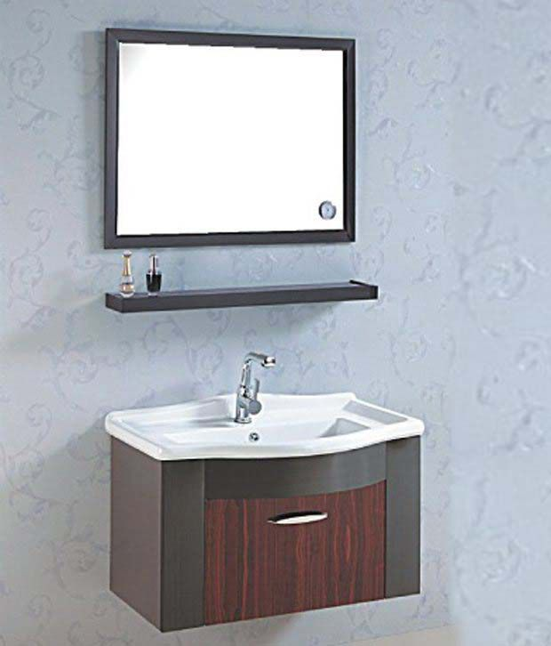 Buy sanitop ceramic wash basin and stainless steel grade for Bathroom wash basin with cabinet