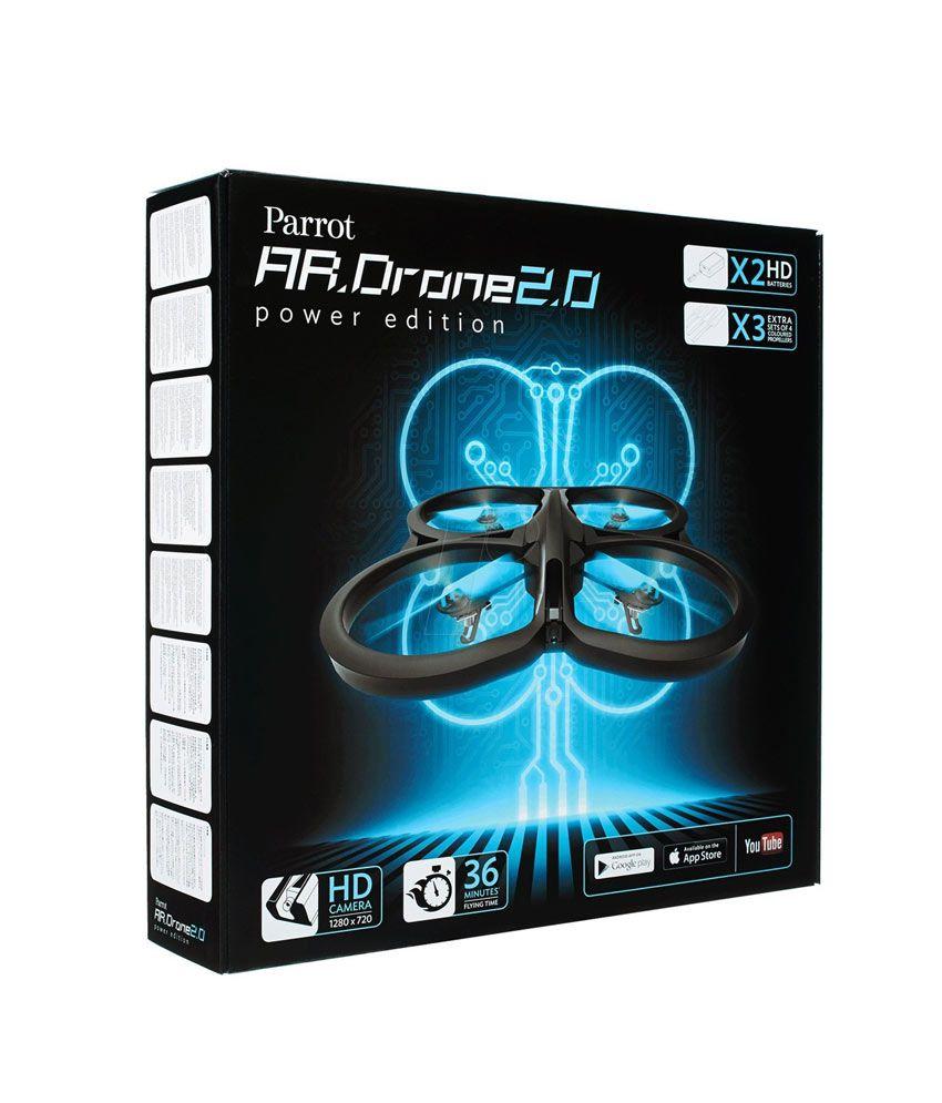 Parrot A.R DRONE 2.0 Power Edition (Blue)