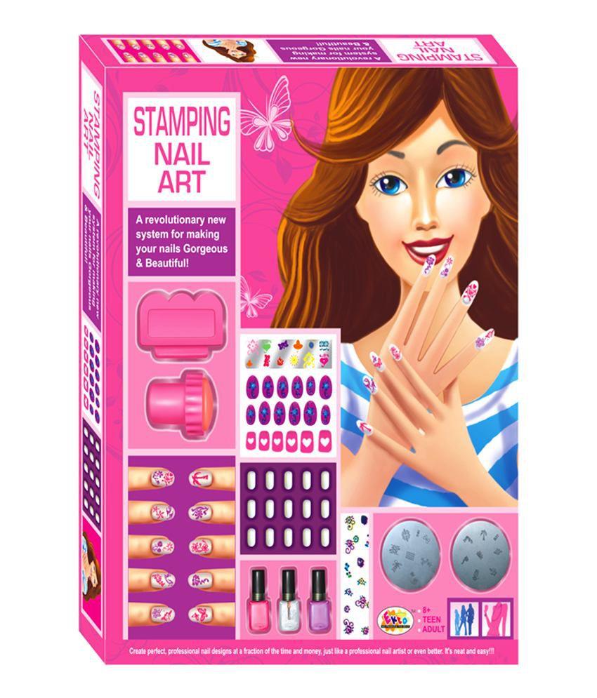 Ekta stamping nail art buy ekta stamping nail art online at low ekta stamping nail art prinsesfo Image collections
