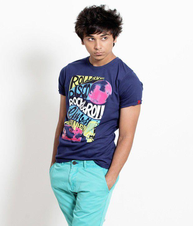 Probase Exclusive Dark Blue T Shirt