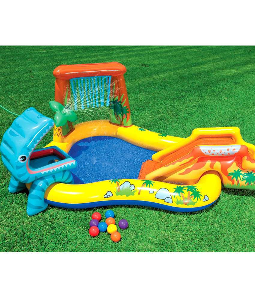 Intex Inflatable Intex Dinosaur Play Centre