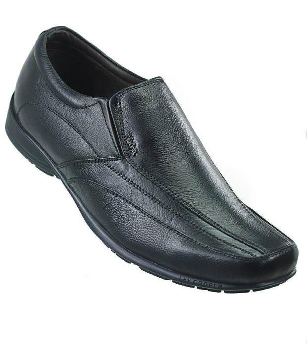 Mens No Slip Black Shoes