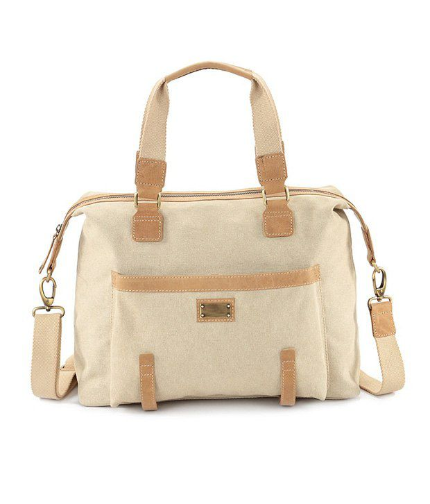 Xhide London Travel Bag For Women Beige