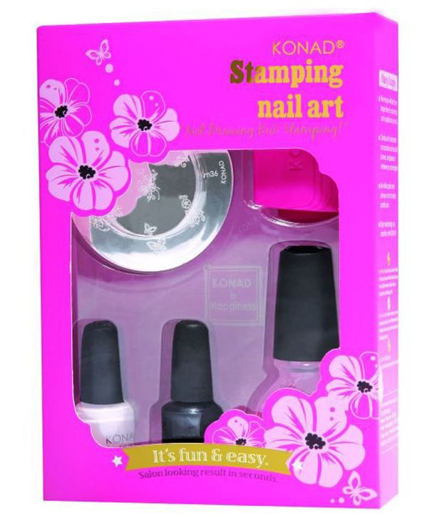 Konad Stamping Nail Art Kit