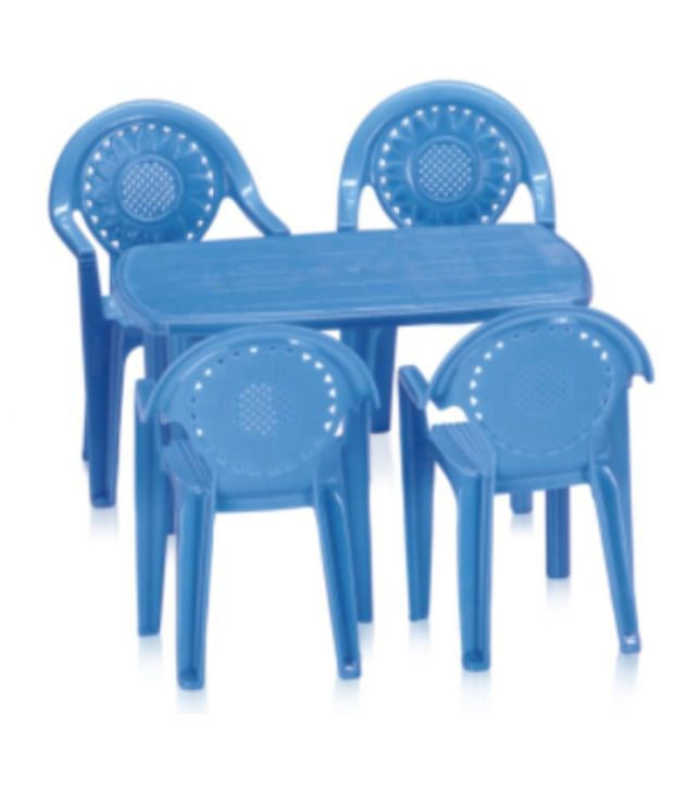 Nilkamal Toy Table Set P Blue - Buy Nilkamal Toy Table Set P Blue ...