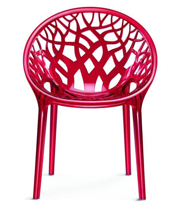 Nilkamal Vap Chair Crystal Pc Red Wine Polycarbonate Buy Nilkamal Vap Chair Crystal Pc Red