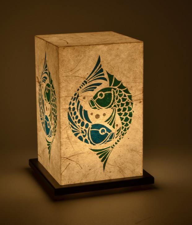 Shady Ideas Soul Fish Table Lamp