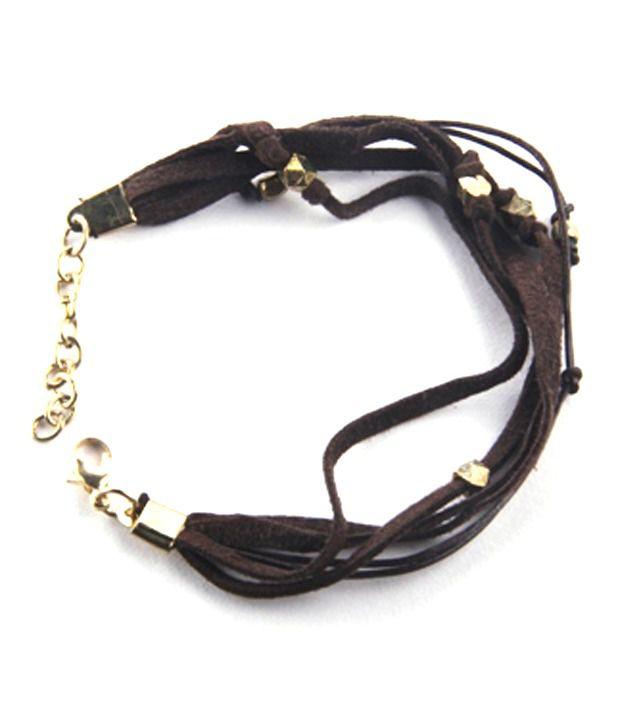 Kiosha Suede Tassel Bracelet