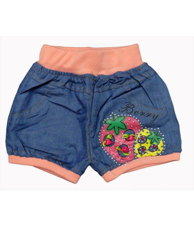 Jazzup- Neon Shorts For Girls