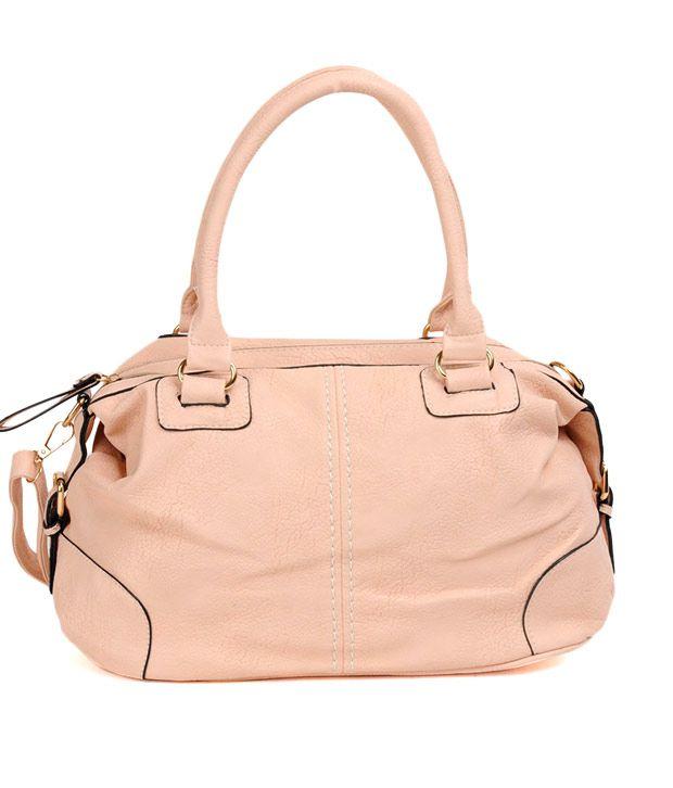 ADISA Stylish Light Pink Handbag