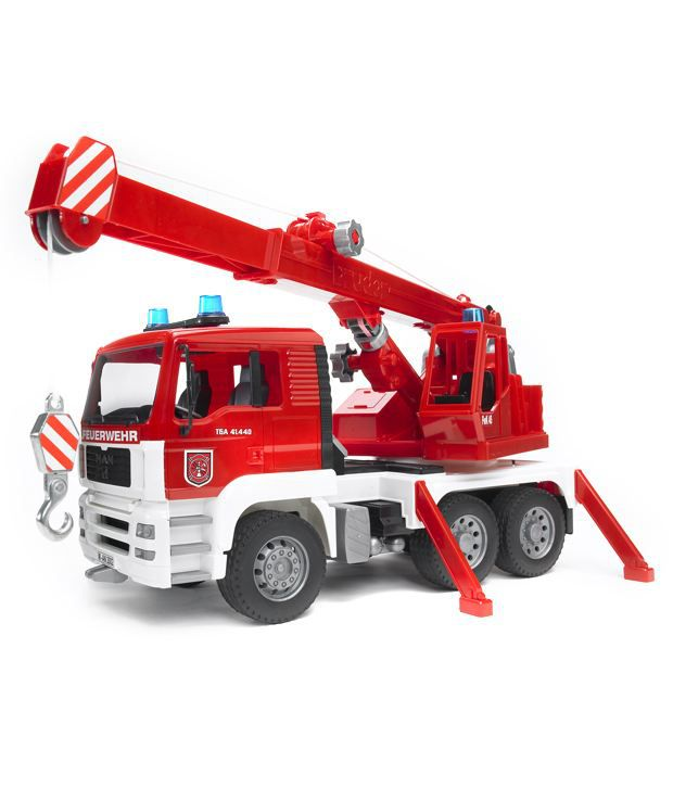 products bruder man fire engine