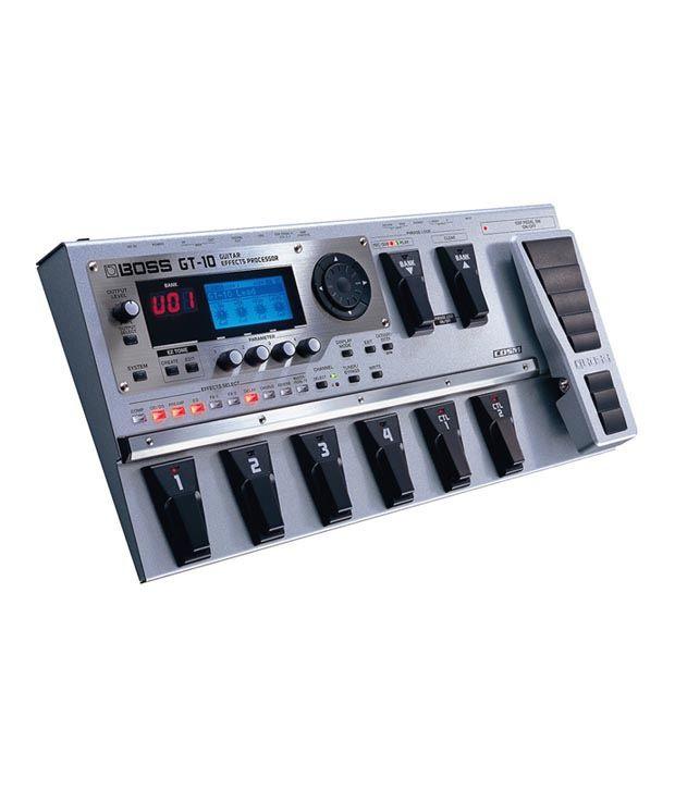 roland gt 10 guitar effects processor buy roland gt 10 guitar effects processor online at best. Black Bedroom Furniture Sets. Home Design Ideas