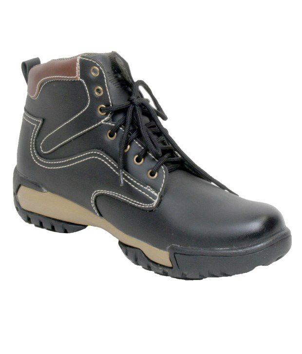 Vprefer Black Ankle Boots