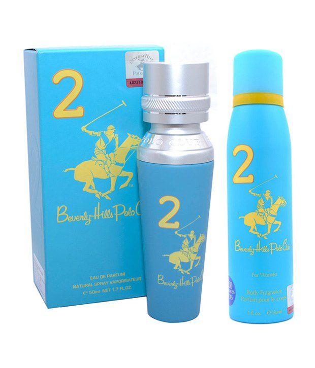 Beverly Hills Polo Club Women EDP Perfume No.2 & Deodorant No 2