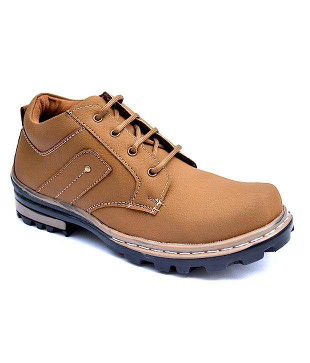 Elvis Black Camel Boot Shoes