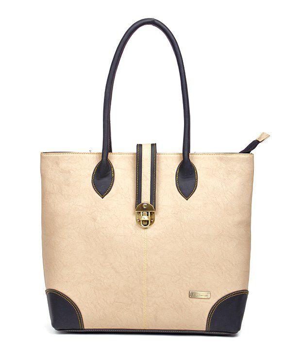 Fiesta BG-7340-B Beige Shoulder Bag
