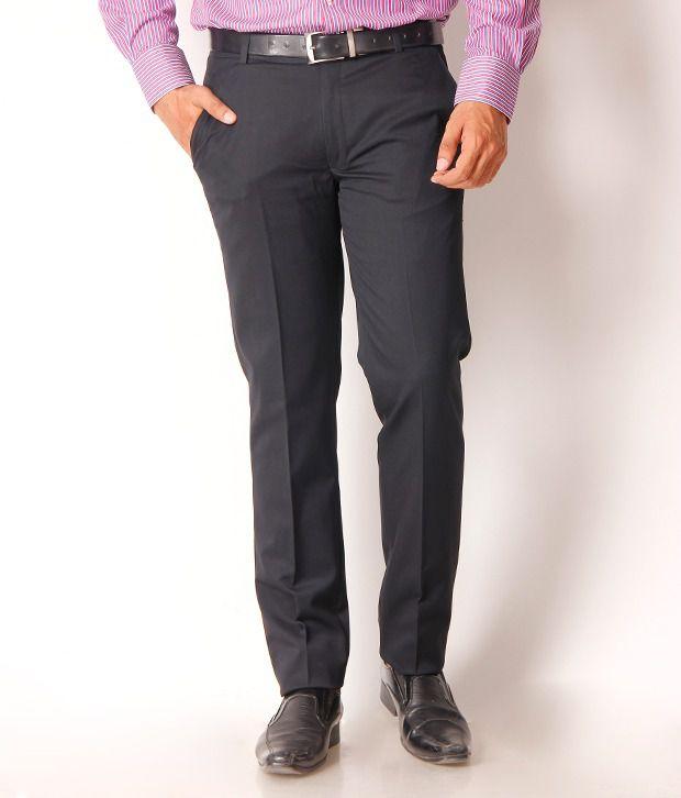 Gansta Black Formal Trouser