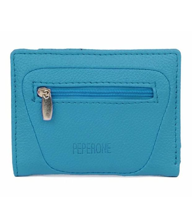 Peperone PWLSB219 Sky Blue Wallet