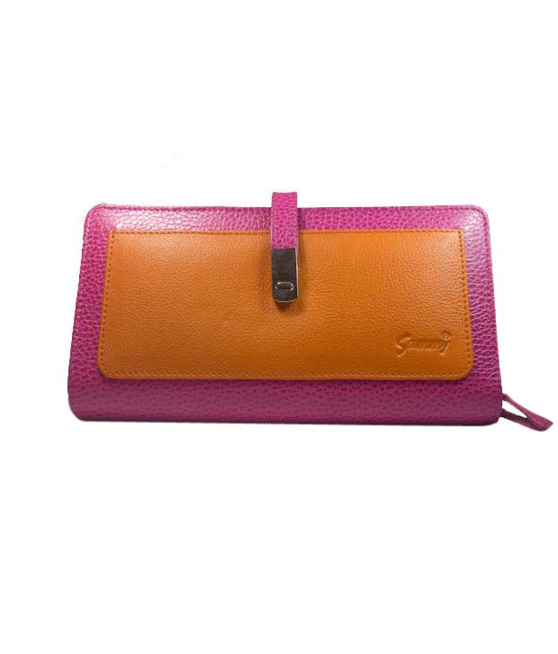Pink & Orange Ladies Wallet922PO