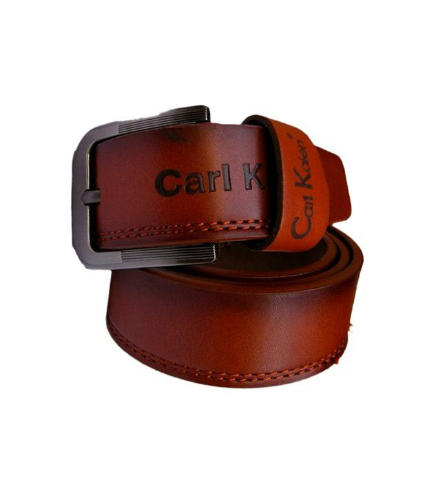Winsome Deal Men's Brown Synthetic Leather Casual Belt - CSLB23