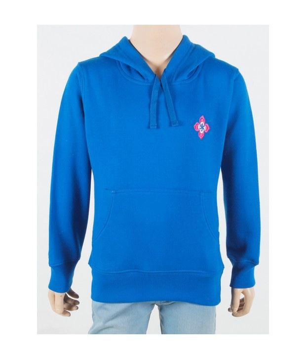 Purple Nasty Black Sweatshirt For Kids