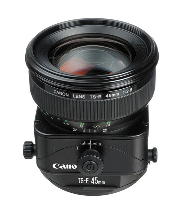 Canon TS-E 45mm f/2.8 Normal Tilt Shift Manual Focus Lens for EOS