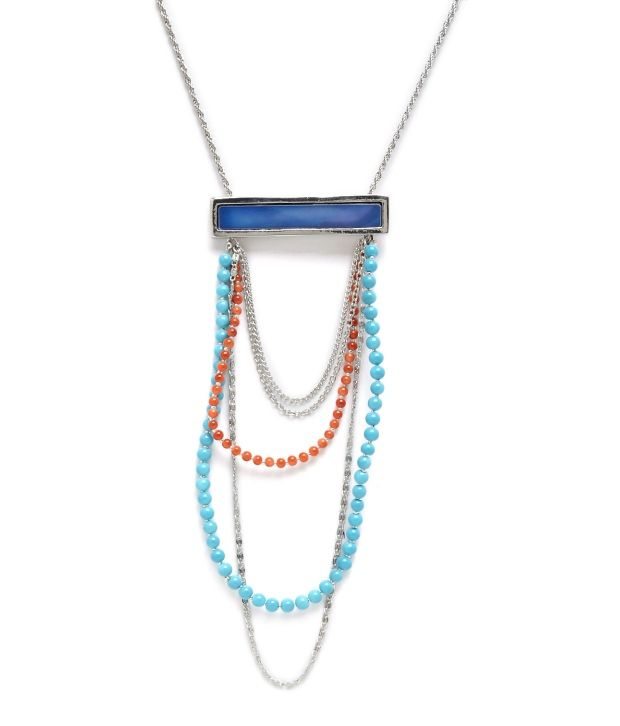 Nineteen Jewel Beaded Affair Necklace