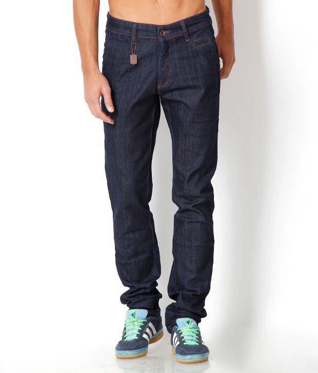 Urban Navy Stylish Blue Basic Jeans
