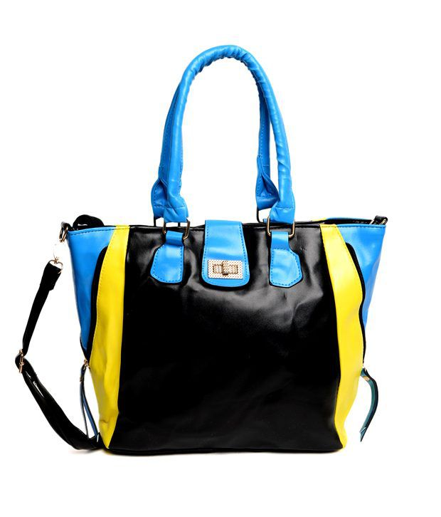 ADISA Trendy Black Handbag
