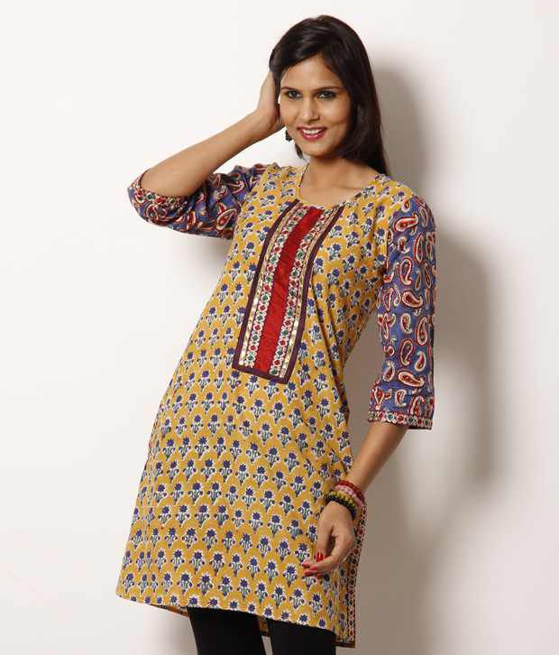 Jaipur Stitched Suits With legging Green Cotton Stitched Suits With legging
