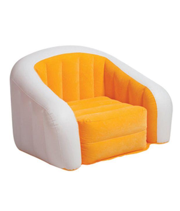 Inflatable Sofa Buy Online: Intex Waterproof Flocking Inflatable Sofa