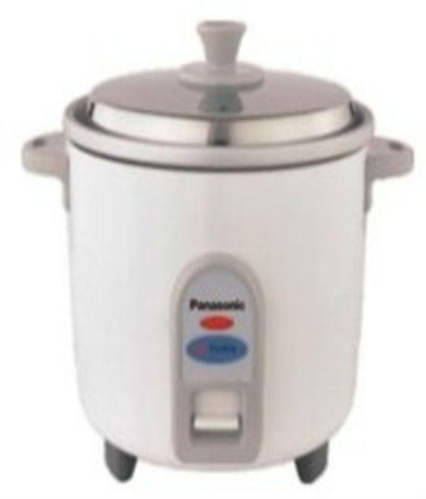 Panasonic 1.8 L SR-W18 GH-CMB Electric Cooker White