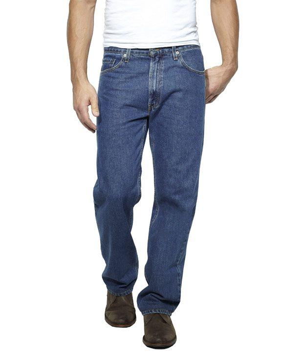 US Rugby Blue Regular Fit Mens Jeans 102