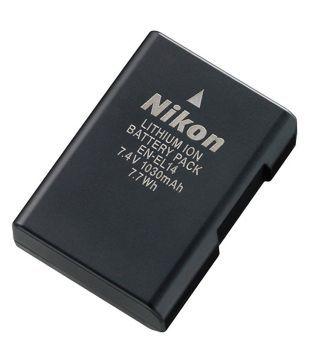Nikon EN EL14 Lithium Ion Battery  1030mAh
