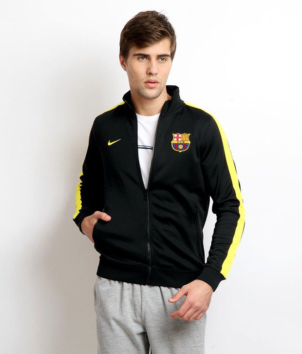 hot sale online ffdd0 86301 Nike FC Barcelona Jacket - Buy Nike FC Barcelona Jacket Online at Low Price  in India - Snapdeal