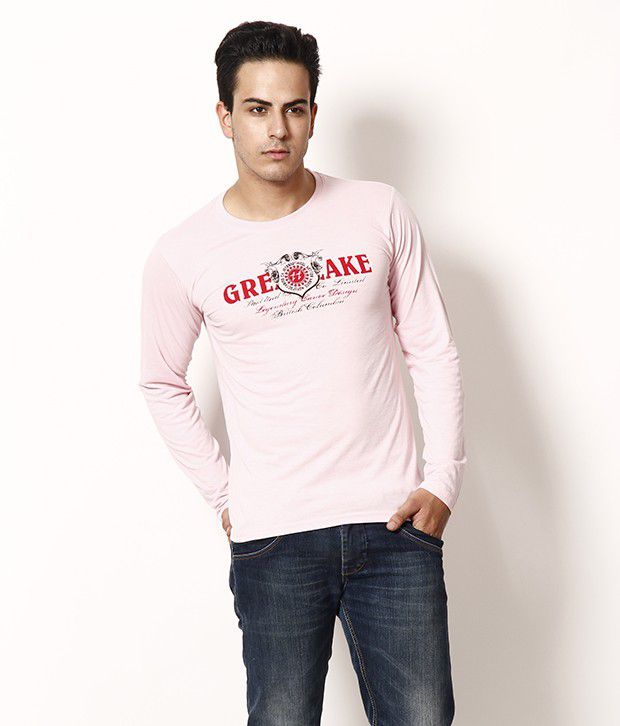 TSX Trendy Pink Full Sleeves T Shirt