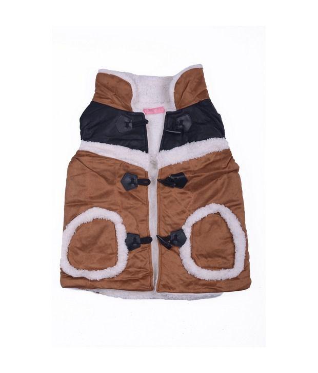 Isabelle Brown Winter Wear Jacket For Kids