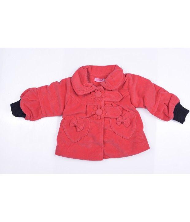 Isabelle Fuschia Winter Wear Jacket For Kids