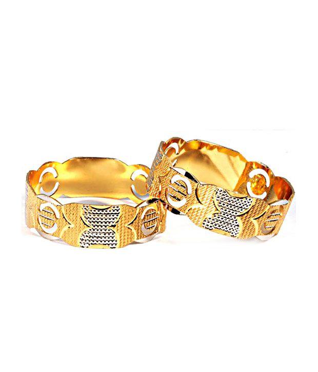 Luxor Incredible Gold Plated KadaSet of 2