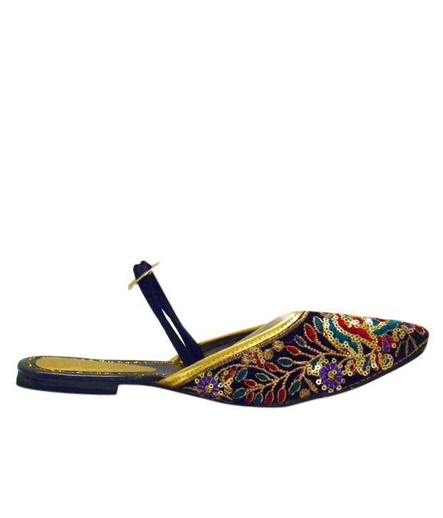 Indirang Multicoloured Pretty Slip-on